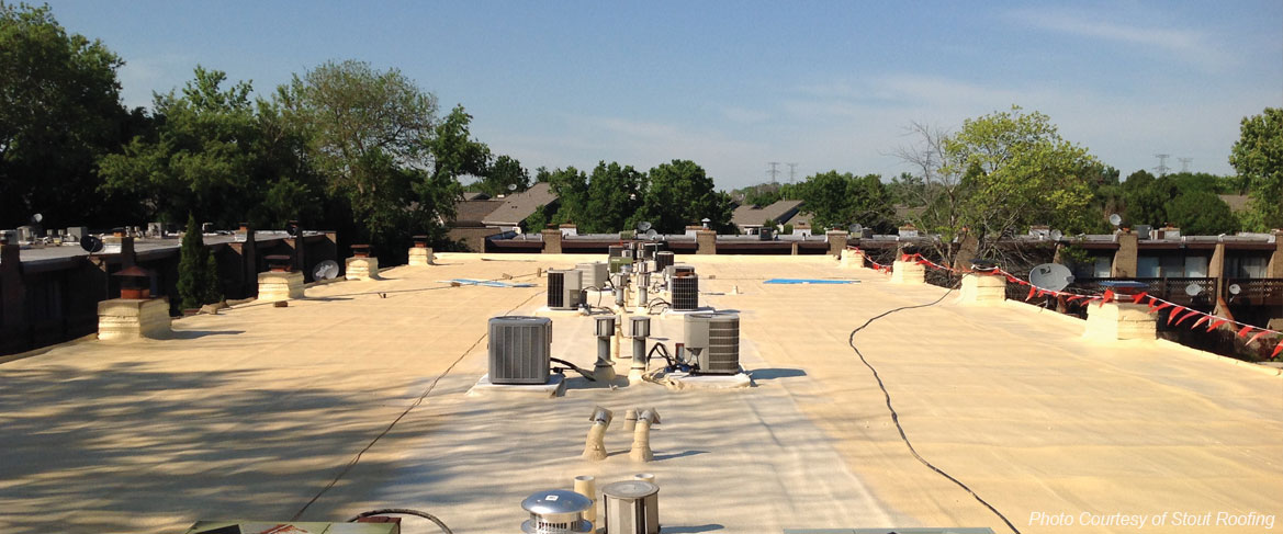 spray foam roofing systems for Ohio